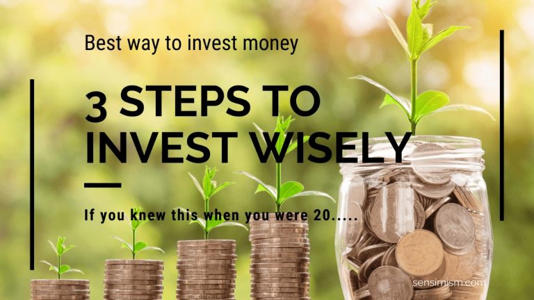 Best way to invest money: 3 steps you wish you knew at 20
