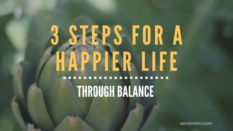 Do this one thing for a happier life: aim for balance (3 steps to get you there)