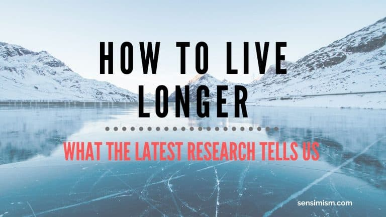 How to live longer through 5 habits – latest research-backed information